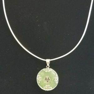 925 Jade Necklace